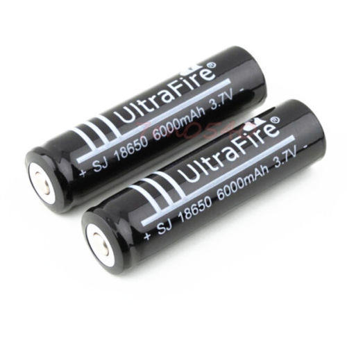 Ladattava akku Ultrafire 18650 2kpl