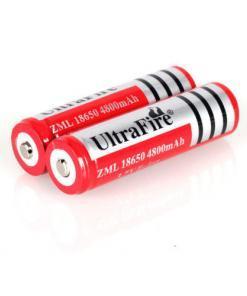 Ladattava akku Ultrafire 18650 4kpl