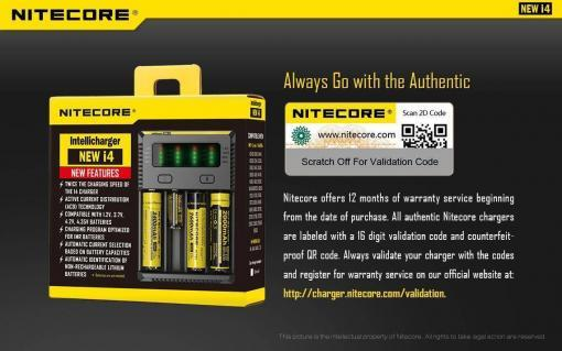 Nitecore Intellicharger i4 – Laturi