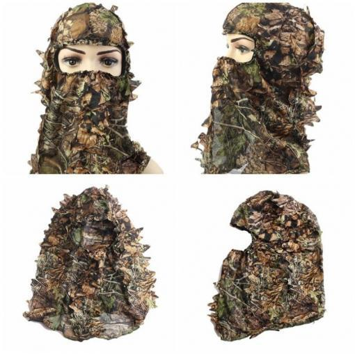3D naamiohuppu metsästykseen