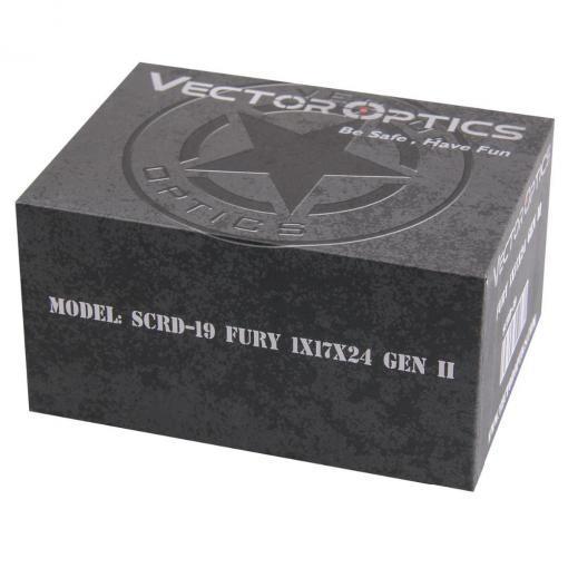 Vector Optics Gen2 Fury, punapistetähtäin