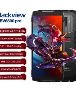 Blackview BV6800 – Älypuhelin