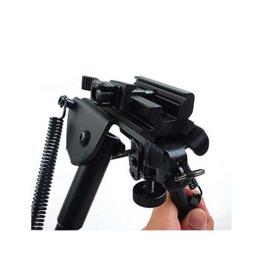 Ampumatuki pikakiinnityksellä QD kiskoon