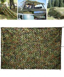 Naamiointiverkko vihreä 2m x 3m