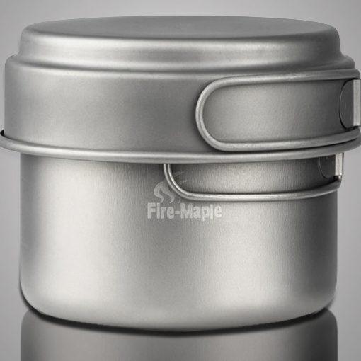 Fire Maple – Titaanikattila ja paistinpannu 0.8l+0.4l