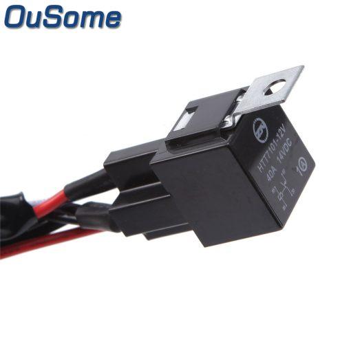 OuSome – Työvalojen johtosarja valokatkaisijalla
