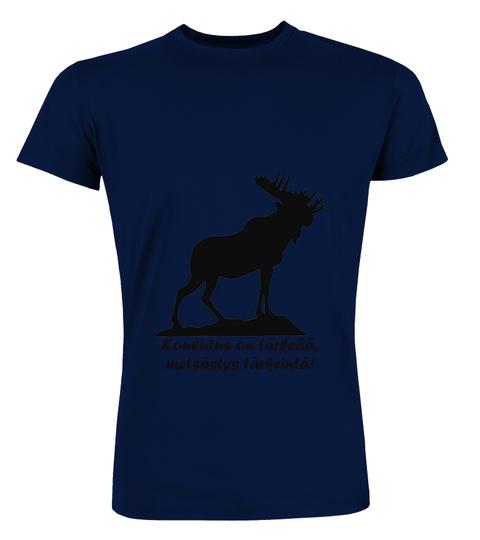 Koulutus on tärkeää, metsästys on tärkeintä! – Premium T-paita