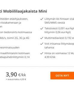 Elisa Mobiililaajakaista Mini – Edullinen liittymä riistakameraan