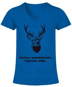 Syntynyt metsästämään, pakotettu töihin! – Naisten T-paita