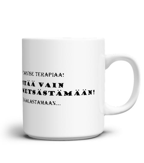 Minä en tarvitse terapiaa – Kahvikuppi
